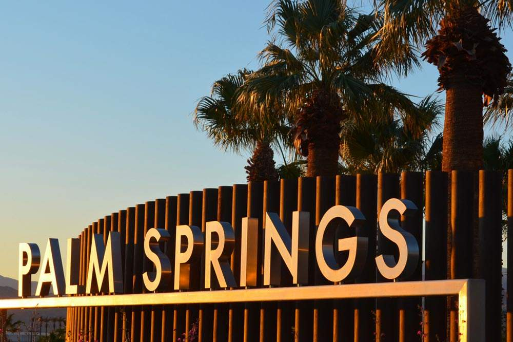 Palm Springs CA Sign